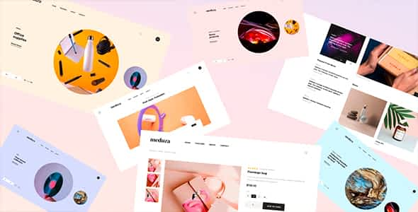 Meduza | Template For Blog & Shop Nulled