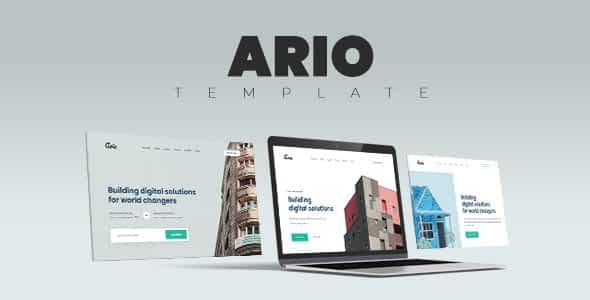 Ario - Multi-Purpose HTML Template for Business and Startups Nulled
