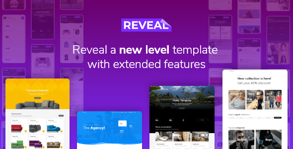 Reveal - Multi-Purpose eCommerce HTML Template Nulled