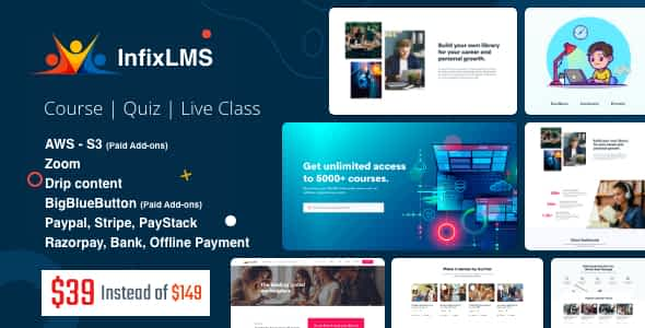 Infix LMS - Learning Management System Nulled
