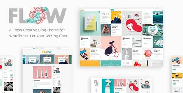 Flow - Creative Blog Nulled