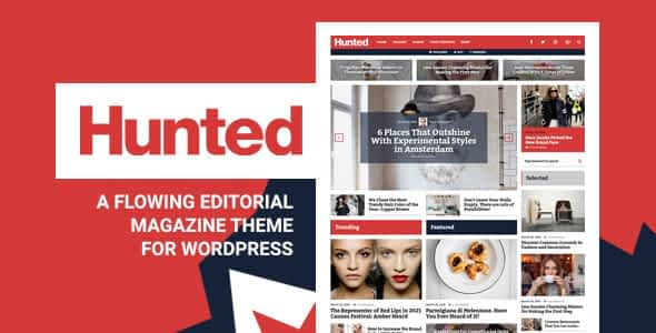 Hunted - A Flowing Editorial Magazine Theme Nulled