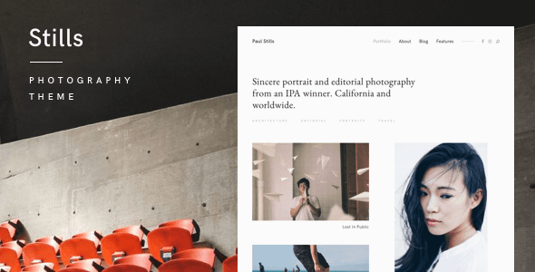 Stills — A Focused WordPress Photography Theme Nulled