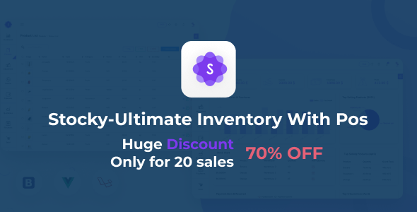 Stocky - Ultimate Inventory Management System with Pos Nulled