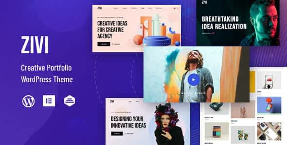 Zivi - Contemporary Creative Agency Theme Nulled