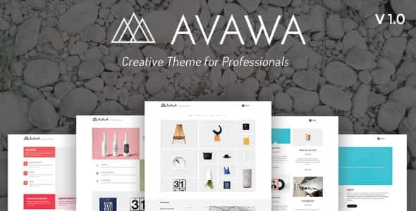 Avawa - Creative Theme for Professionals Nulled