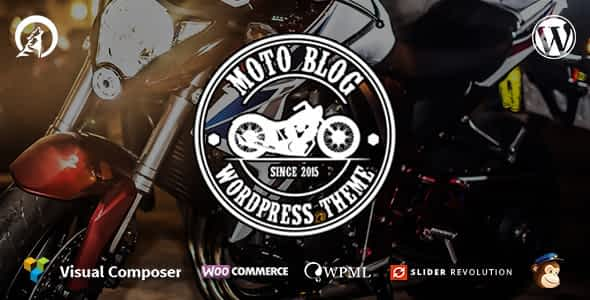 Motoblog - A WordPress Theme for Motorcycle Lovers Nulled