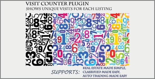 Visit Counter - Classifieds Plugin Nulled
