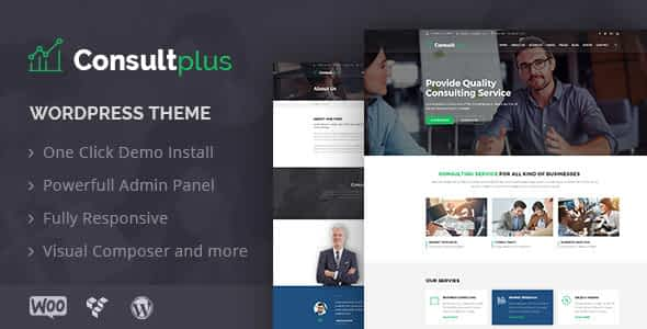 Consultplus : Business Consulting WP Theme Nulled