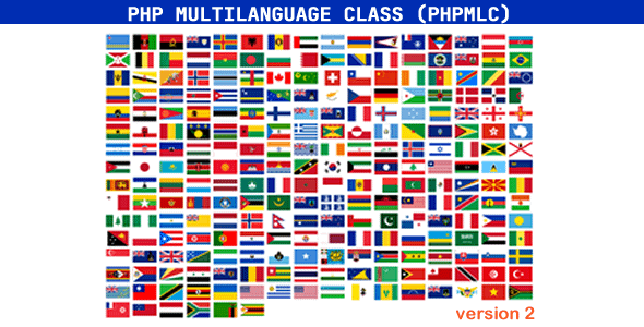 PHP Multilanguage Class (PHPMLC) Nulled
