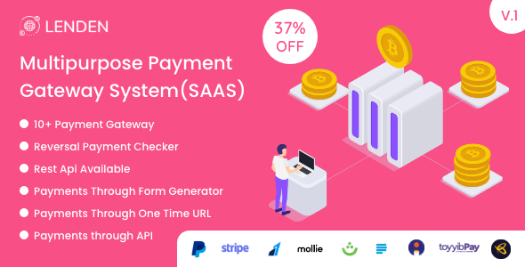 Lenden - Multipurpose Payment Gateway System (SAAS) Nulled