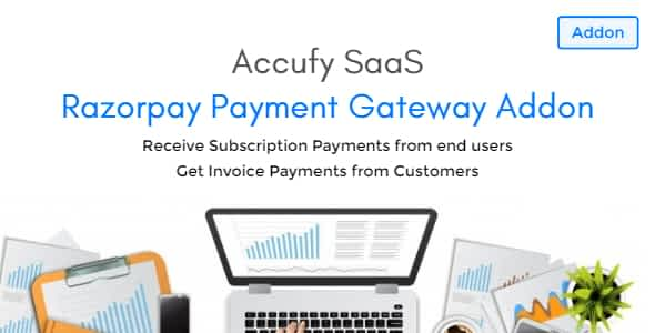 Accufy - Razorpay Payment Gateway Addon Nulled
