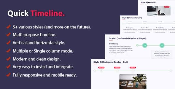 Quick Timeline For PHP Nulled
