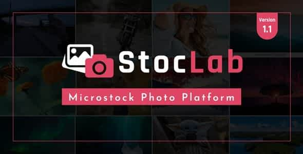 StocLab - Microstock Photo Sharing Platform Nulled