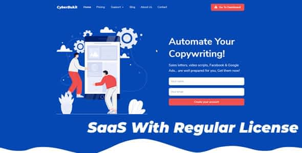 CyberBukit Automatic Writing - SaaS Ready Nulled