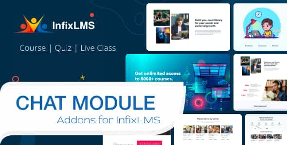 CHAT - Infix LMS Module Nulled