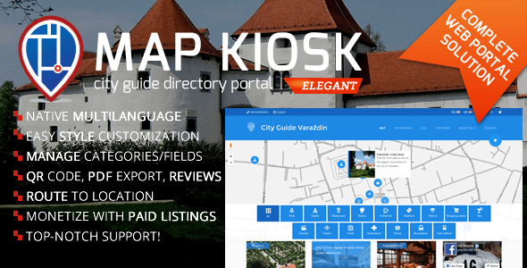 City Guide Directory Portal Nulled