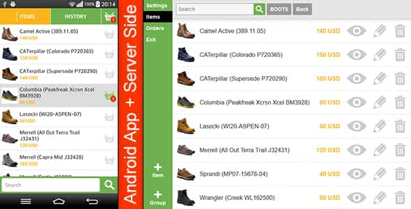 Store Template with Server Side Nulled