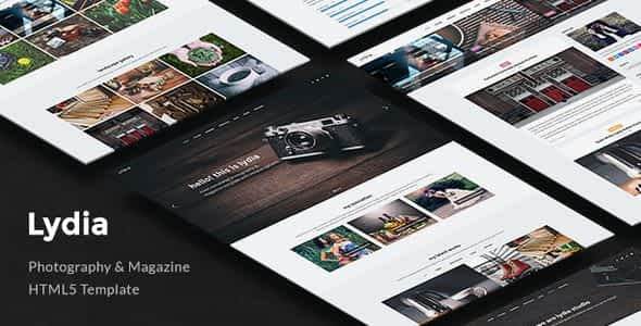Lydia – Photography Nulled