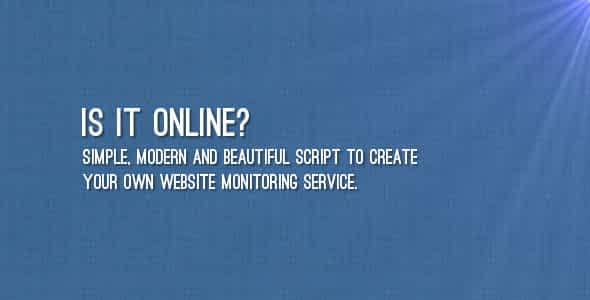 Is It Online? Nulled