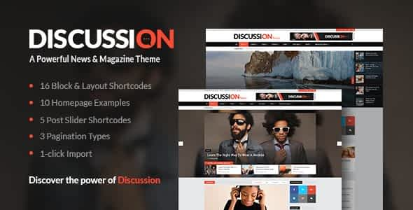 Discussion - News Portal Theme Nulled