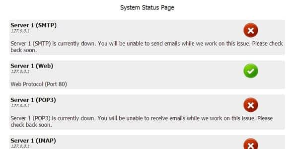 Simple System Status Nulled
