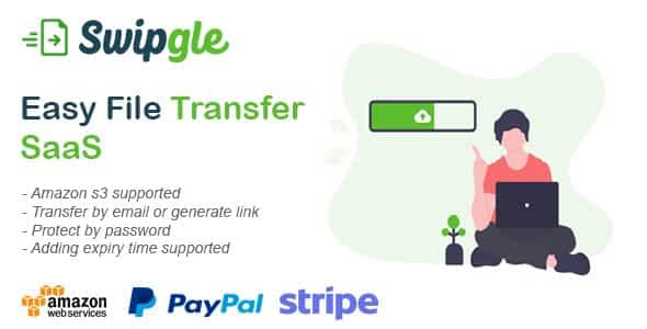 Swipgle - Easy File Transfer SaaS Nulled