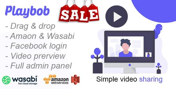 Playbob - Simple Video Sharing Nulled