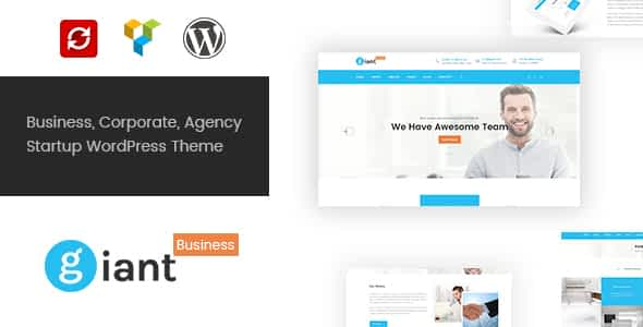 Giant Business - Multipurpose Agency & Corporate WordPress T... Nulled
