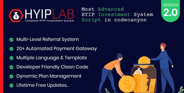 HYIPLAB - Complete HYIP Investment System Nulled
