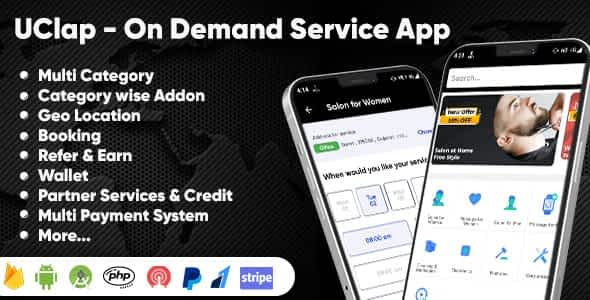 UClap - On Demand Home Service App | UrbanClap Clone | Andro... Nulled