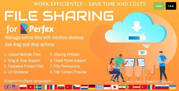 File Sharing for Perfex CRM Nulled
