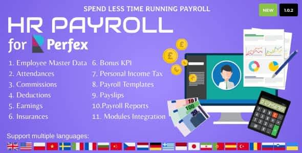 HR Payroll for Perfex CRM Nulled