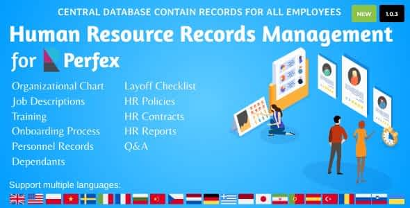 HR Records for Perfex CRM Nulled