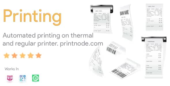 Thermal Printer Module for FoodTiger, WhatsApp Food and QR M... Nulled