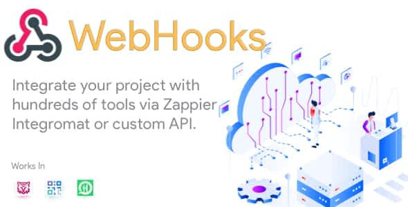 WebHooks - Plugin for FoodTiger, Qr Menu Maker and WhatsApp ... Nulled