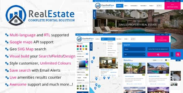 Real Estate Geo Portal Nulled