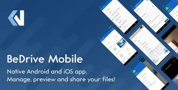 BeDrive Mobile - Native Flutter Android and iOS app for File... Nulled