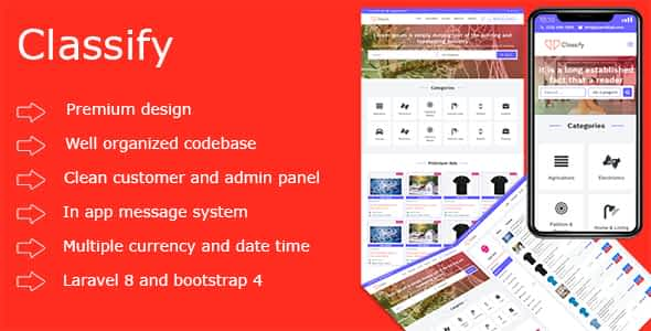 Classify PHP Ads Script Nulled