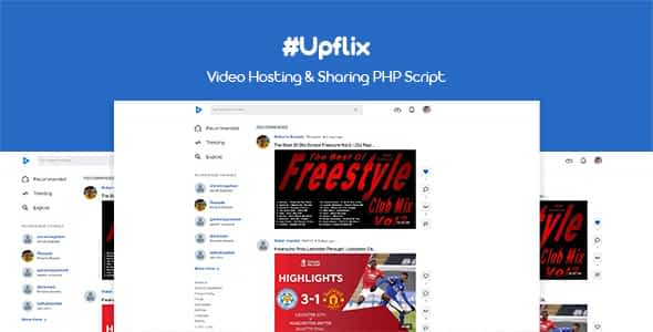 Upflix - Video Hosting & Sharing PHP Script Nulled