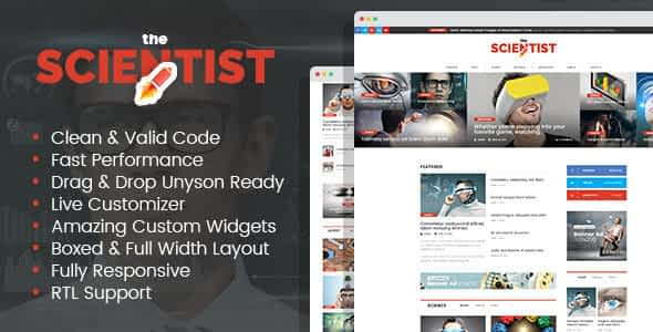 The Scientist - innovations and research news magazine WordP... Nulled