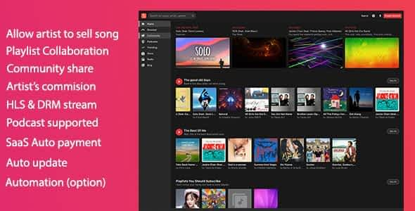 MusicEngine - Music Social Networking Nulled