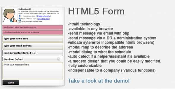 Impressive contact form Nulled