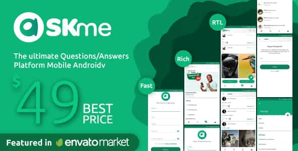 AskMe Android- Mobile Questions & Answers Social Network App... Nulled