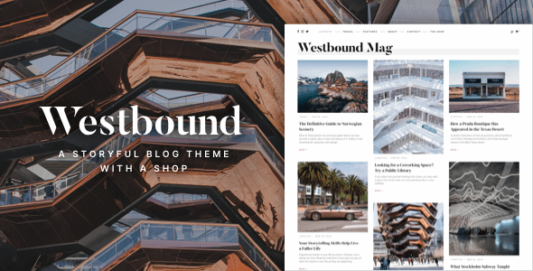 Westbound — A Storyful WordPress Blogging Theme Nulled