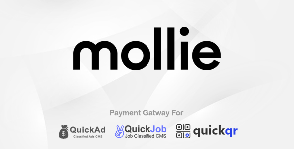 Mollie Payment Plugin For QuickCMS Nulled