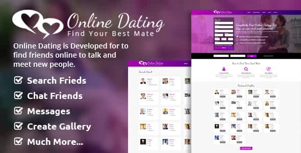 Online Dating Script Nulled
