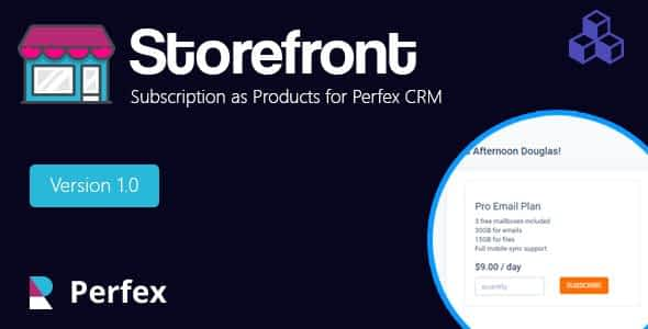 Products and services for Perfex CRM Nulled
