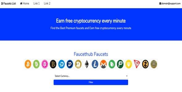 Cryptocurrency Faucet List Nulled