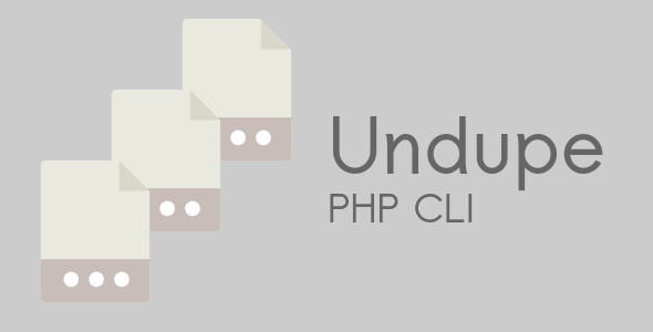 Undupe PHP CLI Nulled